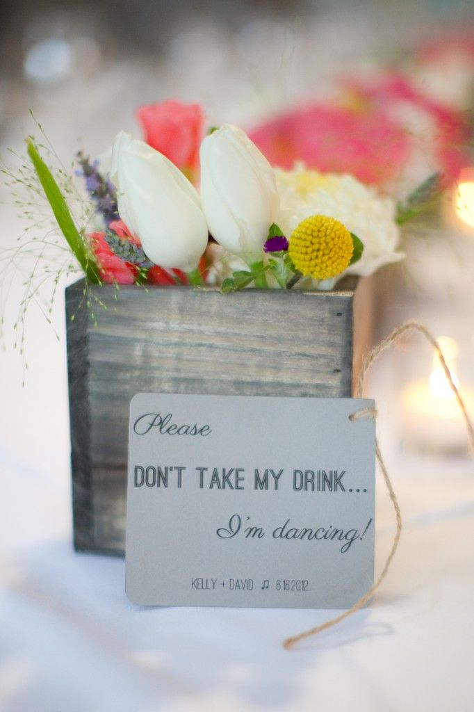 cute idea for on the tables!