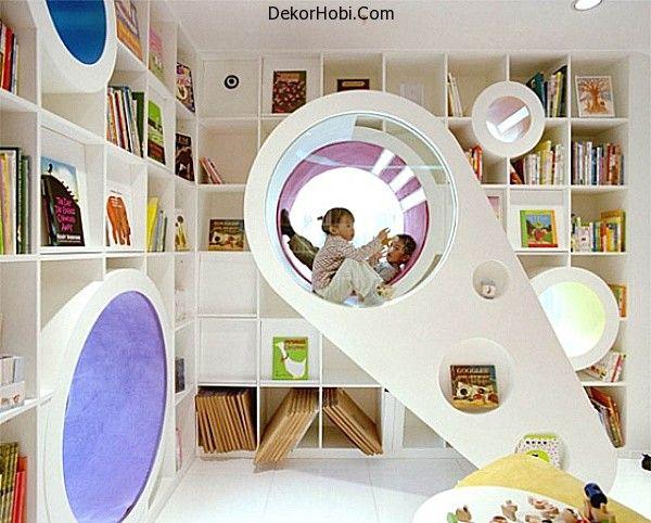 Çocuklar İçin Oyun Odası Tasarım Fikirleri