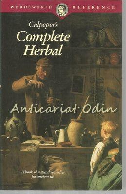 Culpeper's Complete Herbal - Nicholas Culpeper - A Book Of Natur