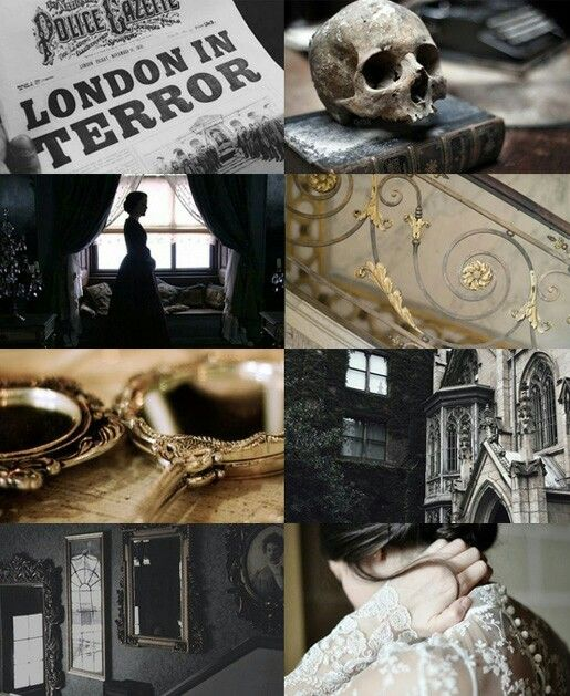 Victorian England Moodboard  inspired by #PennyDreadful  #mywork