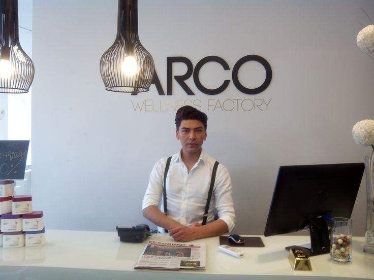 Os presentamos a Rolando, nuestro nuevo becario en Arco Wellness Factory.