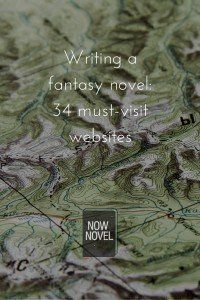 If you're writing a fantasy novel for #NaNoWriMo be sure to bookmark these 34 must-visit websites! #writingtips
