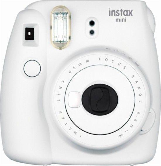 Fujifilm instax mini 9 Instant Film Camera Smokey White 16550629