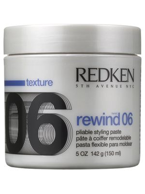 HAIR 2 GO - Redken - Styling - Rewind 06 Pliable Styling Paste 150ml - Old Packaging, $24.95 (http://www.hair2go.com.au/redken-styling-rewind-06-pliable-styling-paste-150ml-old-packaging/)