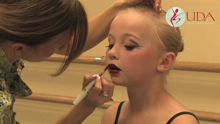 Dance Competition Makeup Guidelines & Demonstration - Part 2 - 2012 Utah Dance Artists