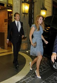 08-26-11 Princess Beatrice of York attends Petra Ecclestone's pre-wedding party