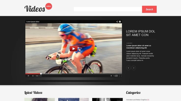 Planing for online streaming website? Here is the hand picked collection of Premium WordPress video themes that streams videos online as YouTube...