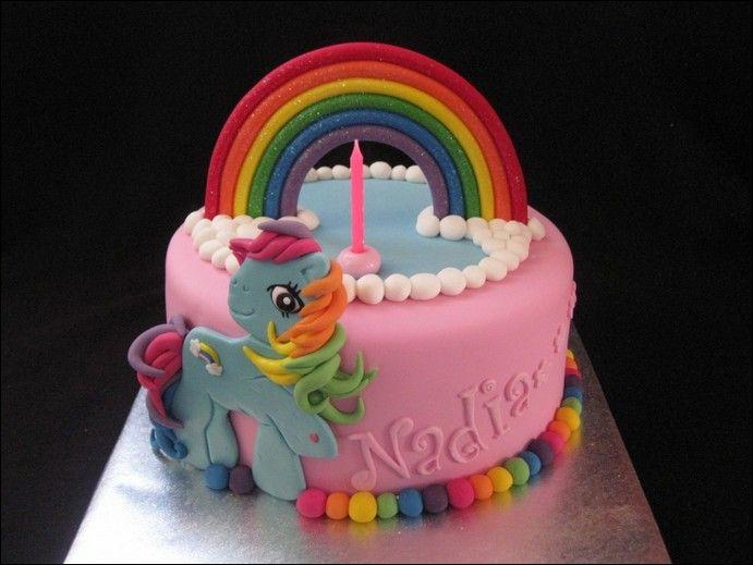 Rainbow Dash Cake Design : My Little Pony Birthday Cake And Cupcakes - Birthday Cake ...