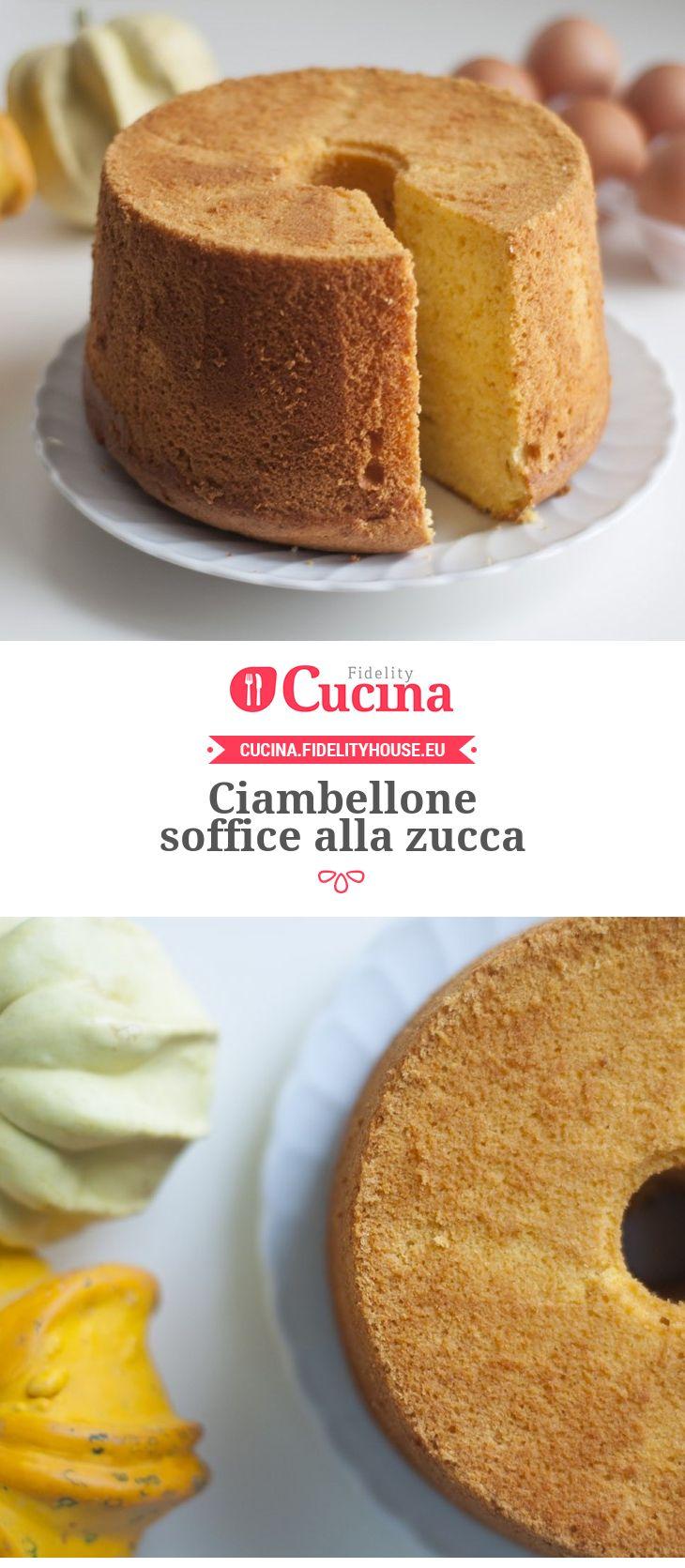 #Ciambellone soffice alla #zucca della nostra utente Chiara. Unisciti alla nostra Community ed invia le tue ricette!