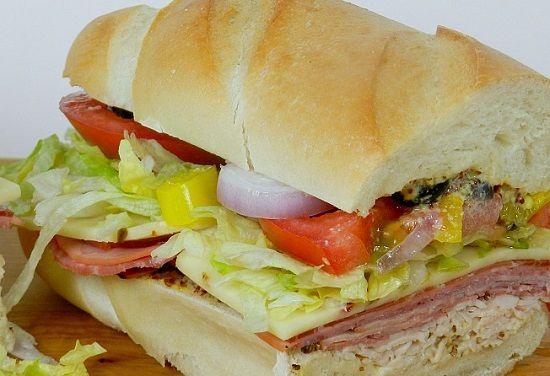 Recipe For Submarine Sandwich