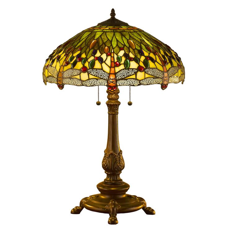 Tiffany Style Dragonfly Table Lamp | Overstock.com Shopping - The Best Deals on Tiffany Style Lighting