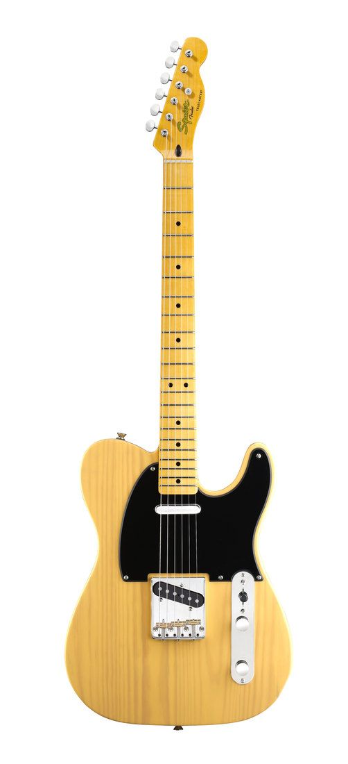 Fender Squier Electric Guitar Classic Vibe 50s Telecaster Butterscotch Blonde