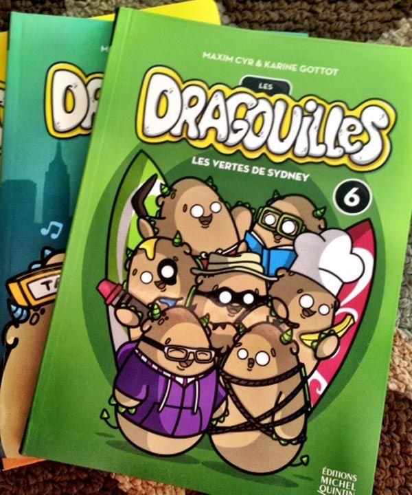 Une très bonne série de romans jeunesse : Les Dragouilles #lesdragouilles #livre #veromagazine #jaimedamak