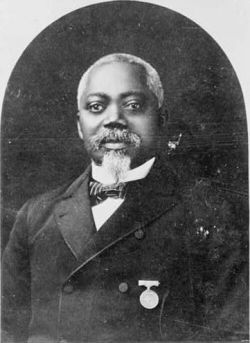 William Harvey Carney was born a slave in 1840. His father escaped and purchased freedom for Carney & his mother. Carney enlisted in the Union army in 1863, joining the all-black 54th Massachusetts Infantry.  On May 23rd, 1900, he became the first Black awarded the Congressional Medal of Honor (the highest military honor). He was honored for his heroism at the Assault on Fort Wagner.