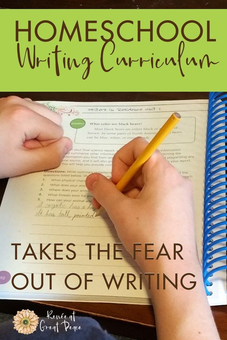 sponsored A Homeschool Writing Curriculum that Takes