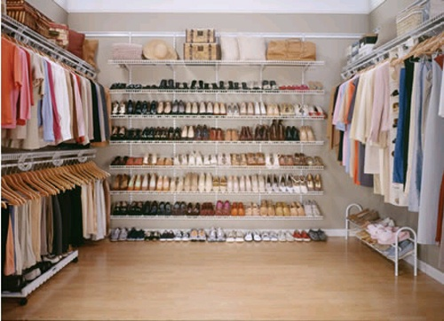 convert a spate bedroom into a giant closet