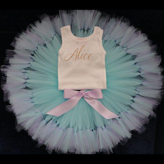 Baby Girls Pink Birthday Dress Tutu, 1st Birthday Dresses, One Baby Dress, Lavender and Gold Dress, Mermaid Birthday Dress
