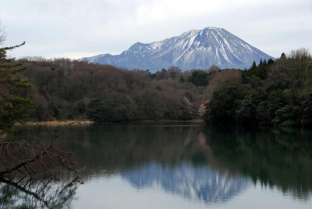 大山(鳥取) Mount Daisen, Tottori, Japan