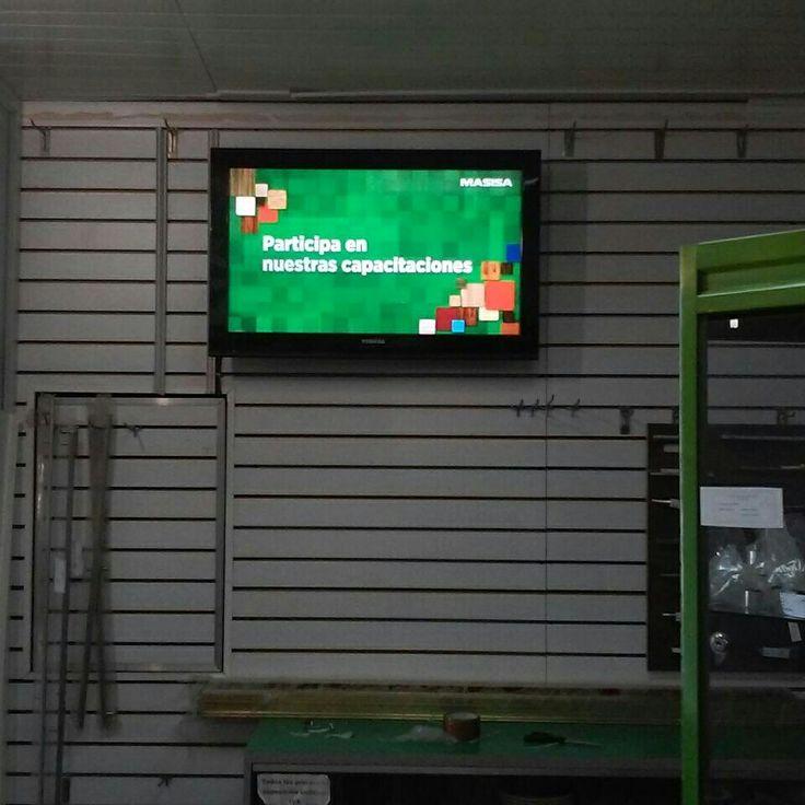 Maderas CAGUA (MASISA), un ejemplo más de la tecnología #DigitalSignage de IMVINET