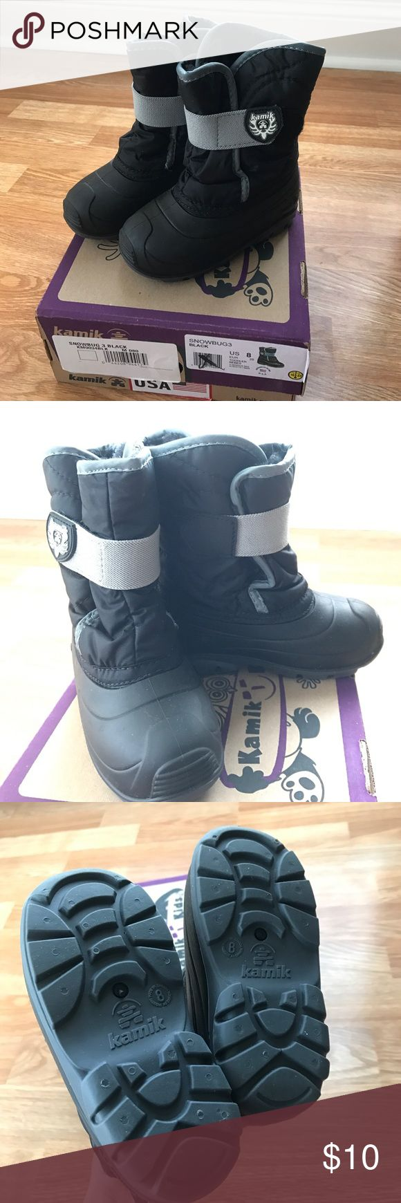 Kamik toddler snow boots New in box snow boots. Kamik Shoes Rain & Snow Boots