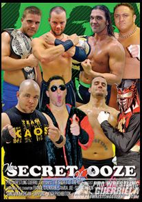 Pro Wrestling Guerrilla DVD - The Secret of the Ooze