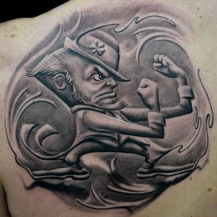 Best 25 leprechaun tattoos ideas on pinterest for Notre dame tattoos