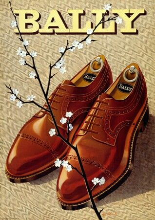 Vintage Advertising Posters | Bally