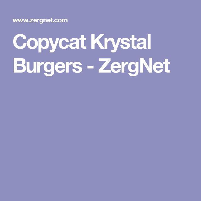 Copycat Krystal Burgers - ZergNet