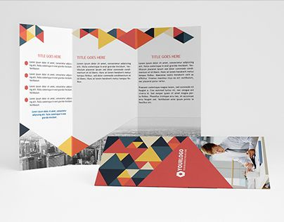 """Check out new work on my @Behance portfolio: """"Minimalis Triangle Trifold"""" http://on.be.net/1LAHZ2Q"""