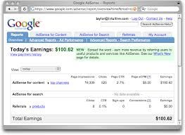 .: Google Adsense Income Monthly Plan