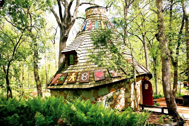 The Witches Hut in Kildonan Park, Winnipeg, MB.  I think every kid was scared to go in there!
