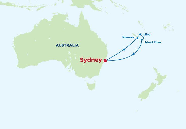 8 Night South Pacific Cruise on the Celebrity Century Noumea - New Caledonia, Lifou - Loyalty Island, Isle Of Pines - New Caledonia