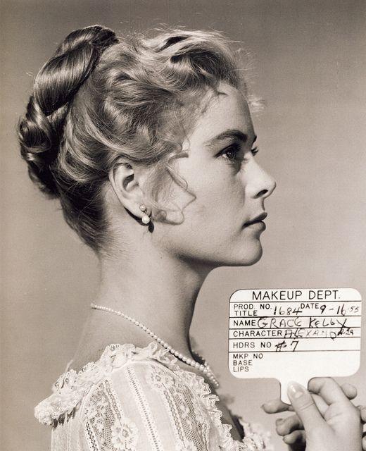 "Grace Kelly, makeup test for ""The Swan"": Princesses Grace, Princesses Alexandra, 1950S, Beautiful, Makeup Test, Kelly Makeup, Grace Kelly, Hair, Photo"