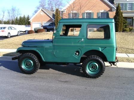 Glenwood Green Jeep Cj Paint