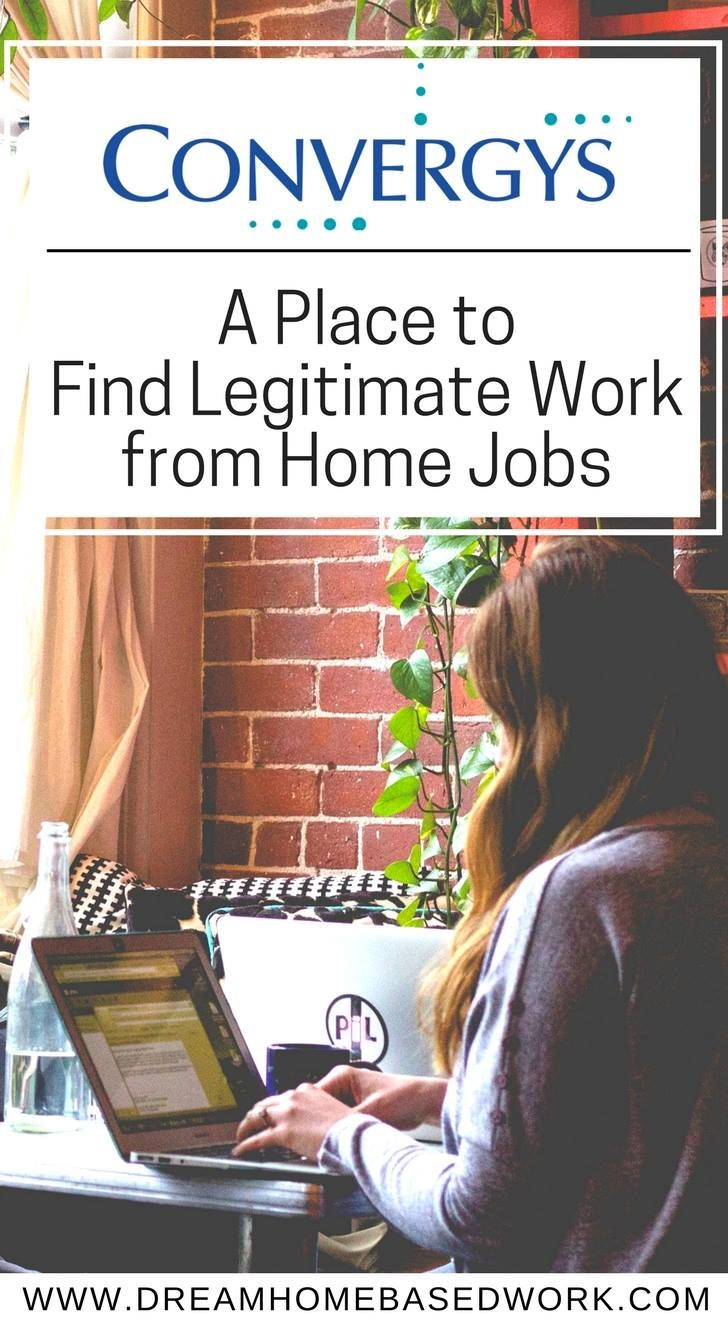 Convergys A Place To Find Legitimate Work From Home Jobs Work