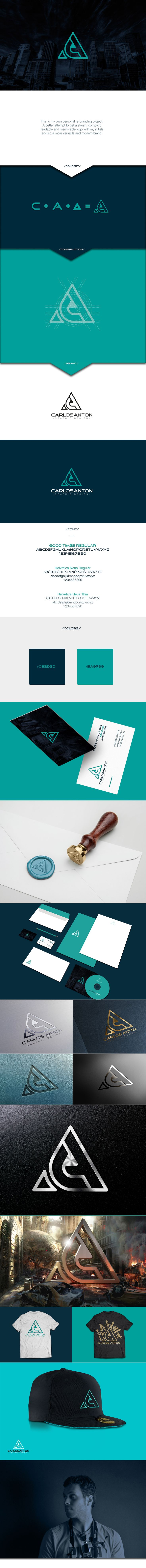 Personal Branding - Carlos Antón on Behance