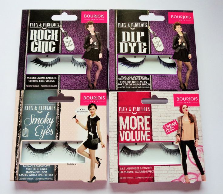 Bourjois Faux & Fabulous False Eye Lashes #Bourjois FOUND ON EBAY.COM ITEM NUMBER PUT IN SEARCH BAR 222078102295 LOTS OF BOURJOIS LASHES THERE ALSO CHECK EBAY.CO.UK IM SURE THE UK SITE HAS EVEN MORE BOURJOIS LASHES. DON'T JUST BUY THERE, UNLESS SELLER SAYS SHIPS TO USA. WRITE SELLER AND ASK. I DO IT ALL THE TIME. KAREN :)