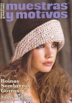 MUESTRAS Y MOTIVOS: BOINAS, SOMBREROS, GORROS №1 2013