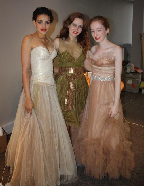 Vesselina Pentcheva, Claire Richards and Nicole Madell