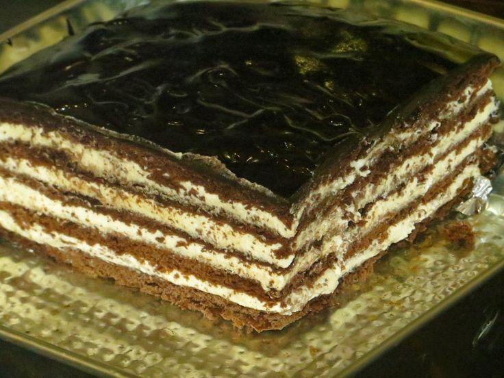 Domowe ciasta i obiady: Ciasto Ukrainka