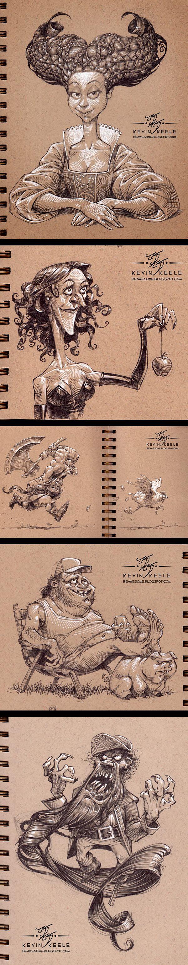Inspirations graphiques #16 Kevin Keele | sketchbook