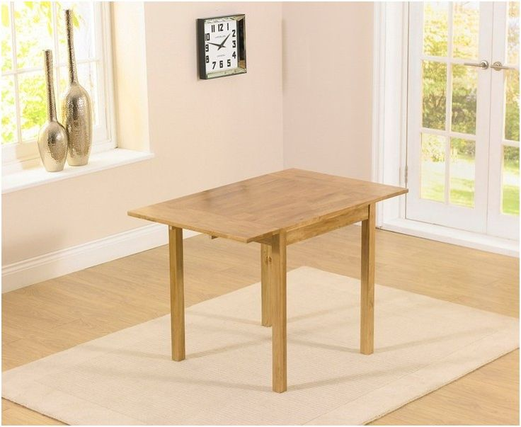 Purton 70cm Rectangular Extending Dining Table  The table is crafted from strong oak and attributes a smooth table leading having a subtle finger jointed style.  https://www.bonsoni.com/purton-70cm-rectangular-extending-dining-table