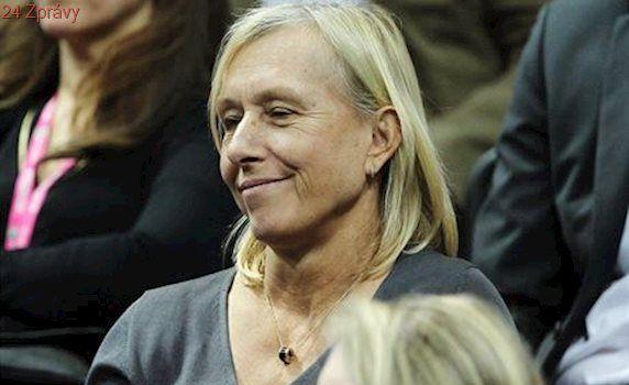Navrátilová vyzvala ke změně jména Arény Margaret Courtové. Je to vážné, tvrdí