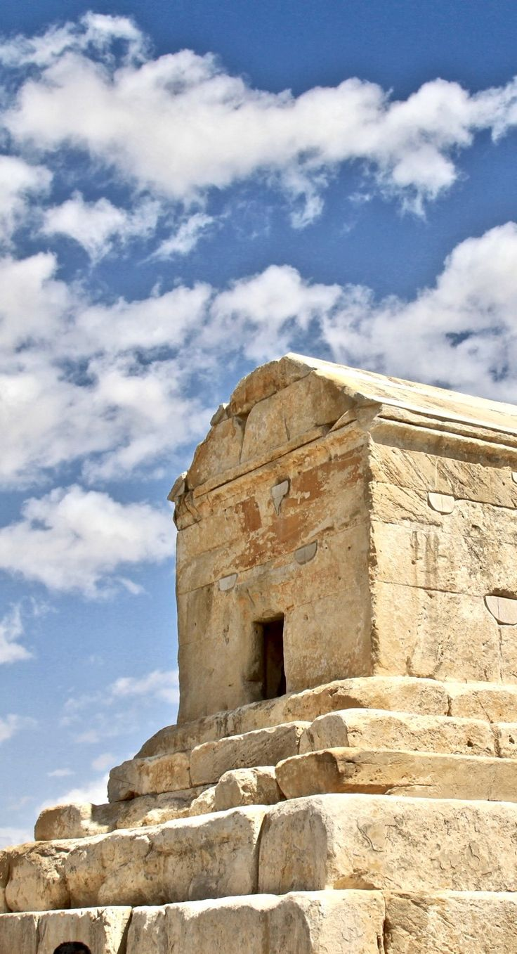 The tomb of Cyrus the Great in Pasargadae, Iran
