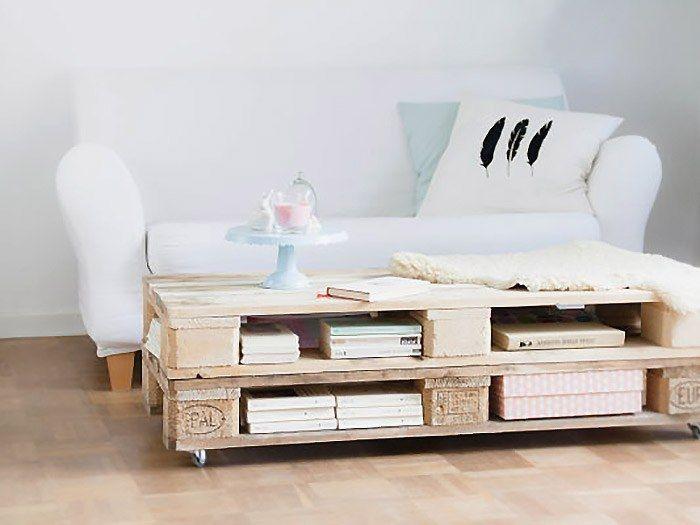 Comment upcycler des palettes en bois pour en faire une superbe table basse ? On vous explique comment procéder dans ce tutoriel !