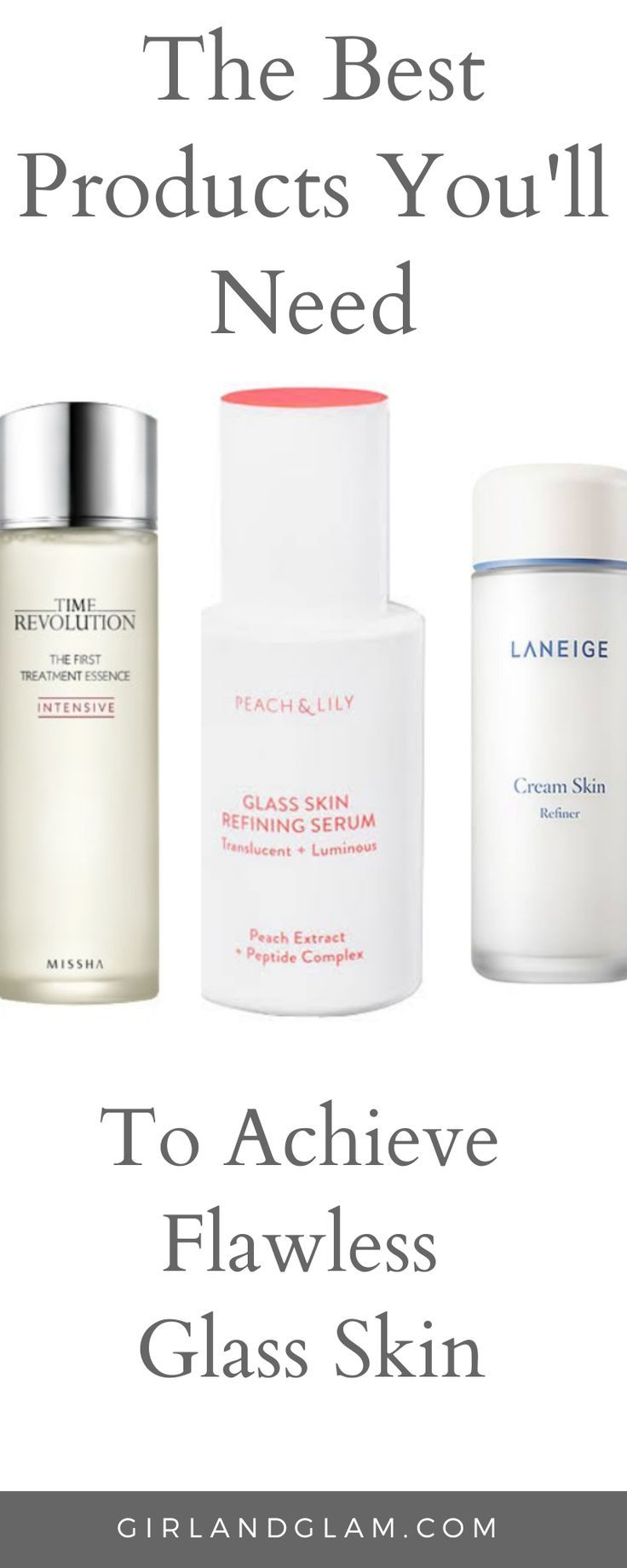 Products For Glass Skin Glass Skin Skin Even Out Skin Tone