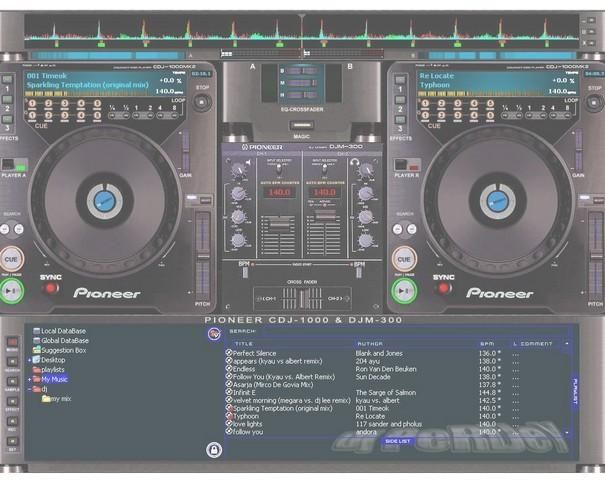 Telecharger virtual dj 5.2 pour la DJ CONSOLE RMX