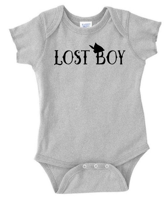 Lost Boy Peter Pan inspired onesie or shirt by DoodlesAndDots2