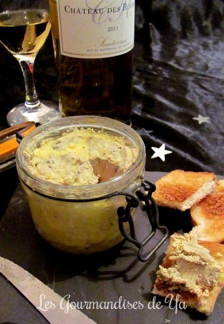 Bocaux de foie gras au sauterne