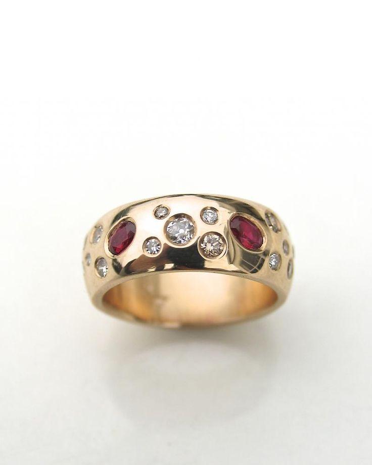 contemporary wedding ring,alternative engagement ring,custom made jewelery,remodeling old rings,New Zealand handmade jewellery,Australian wedding rings,remodel rings | Debra Fallowfield